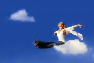Resultado de imagen de imagenes mujer volando