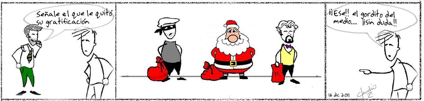 caricatura navidad
